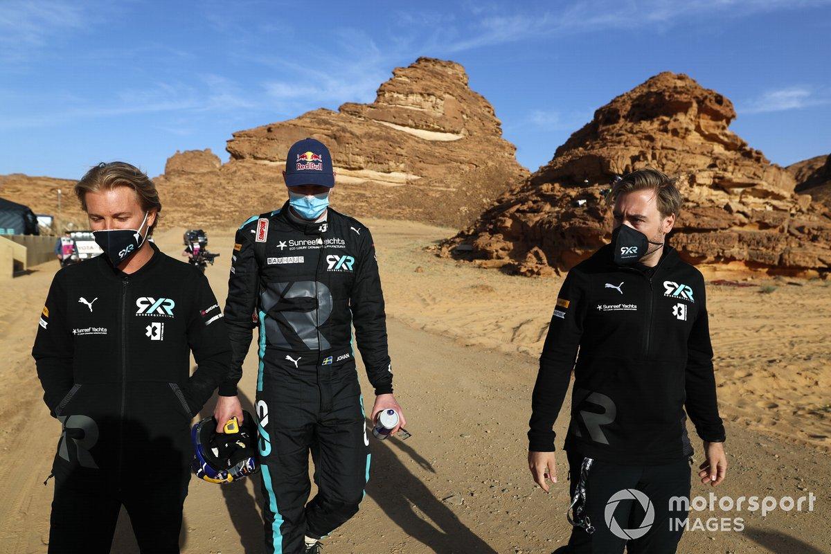 Nico Rosberg, fundador y CEO, Rosberg X Racing, y Johan Kristoffersson, Rosberg X Racing