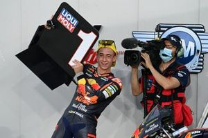 Race winner Pedro Acosta, Red Bull KTM Ajo