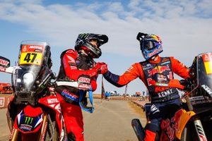 #47 Monster Energy Honda Team: Kevin Benavides, #5 Red Bull KTM Factory Racing: Sam Sunderland
