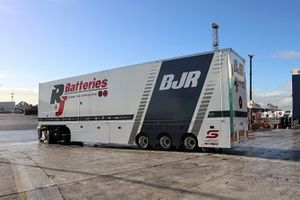 Brad Jones Racing transporter