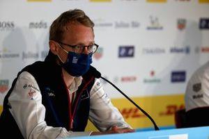 Sylvain Filippi, Managing Director, Envision Virgin Racing, in the Press Conference