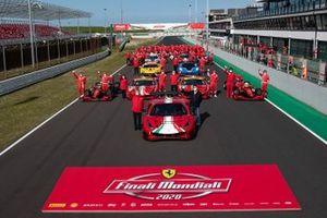 Finali Mondiali Ferrari 2020: foto di gruppo
