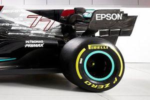 Mercedes AMG F1 W12 dettagli