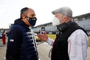 Gerhard Berger, Président ITR, Vincent Vosse, Team principal Audi Sport Team WRT