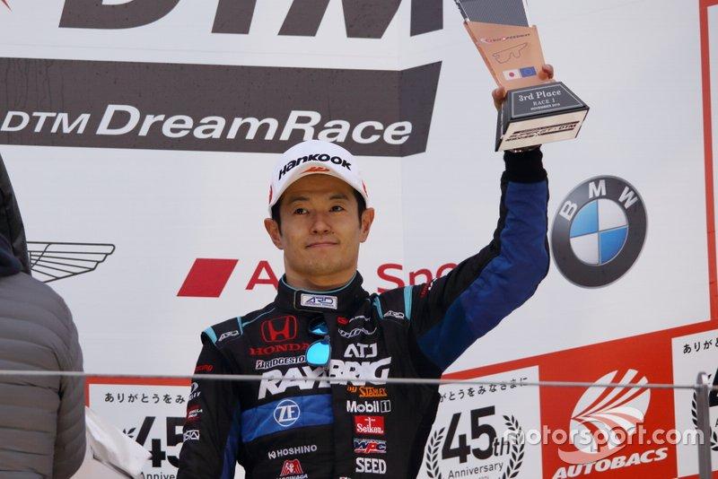 Naoki Yamamoto, #1 RAYBRIG NSX-GT