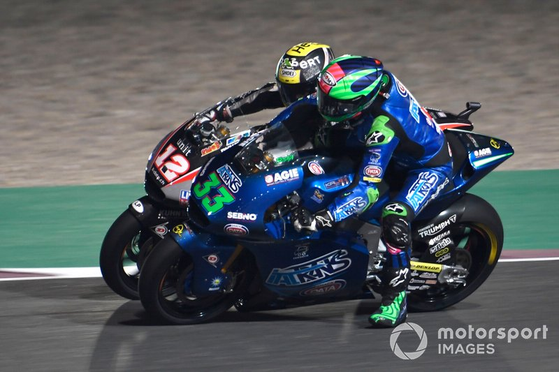 Enea Bastianini, Italtrans Racing Team, Tom Luthi