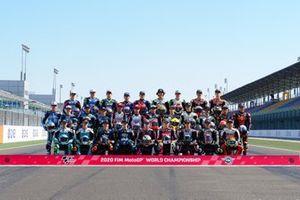Moto 3 riders lineup