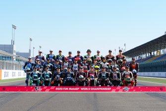 Moto 3 rijders lineup