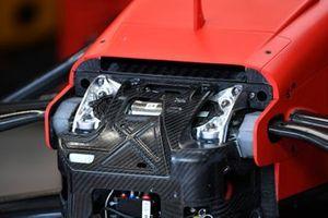 La voiture de Sebastian Vettel, Ferrari SF1000