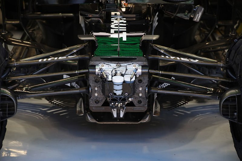 La suspension avant de la Renault R.S.20