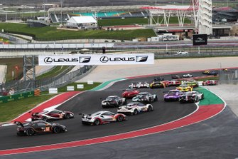 WEC-Action auf dem Circuit of The Americas in Austin