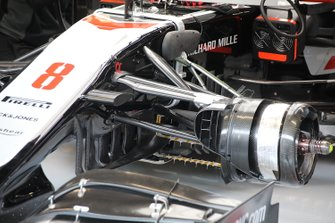 Haas F1 Team VF20 front suspension