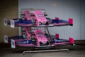 Racing Point RP19 front wings