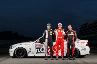 #706 BMW 325i: Oliver Frisse, Torsten Kratz, Moran Gott