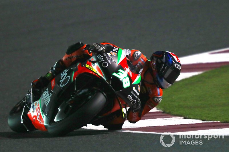 22º Bradley Smith, Aprilia Racing Team Gresini - 1:55.916*