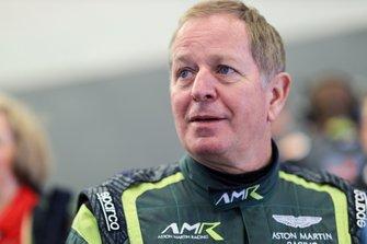 #156 AMR Performance Centre Aston Martin Vantage AMR GT4: Martin Brundle