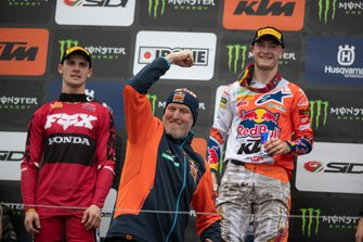 Teambaas Dirk Gruebel van Red Bull KTM Factory Racing voor Jeffrey Herlings, Red Bull KTM Factory Racing