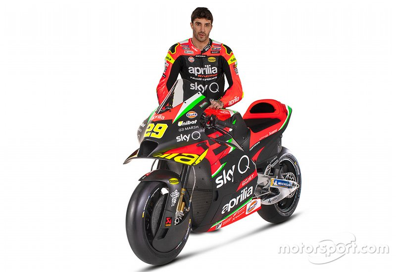 2020: Andrea Iannone, Aprilia Racing Team Gresini
