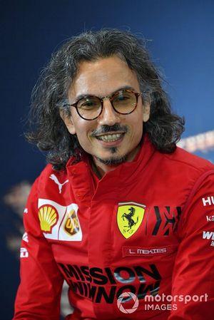 Laurent Mekies, directeur sportif Ferrari