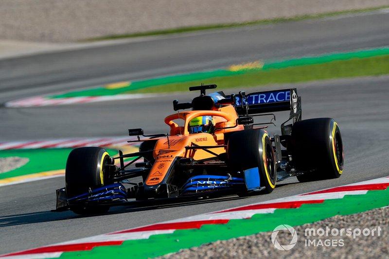 21º Lando Norris, McLaren MCL35: 1:17.573 (con neumáticos C2)