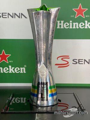 Troféu do GP do Brasil - homenagem a Ayrton Senna