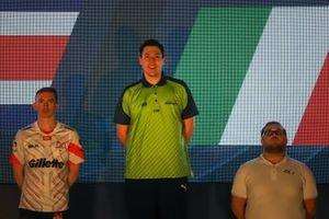 Ceremonia del podio Copa Digital