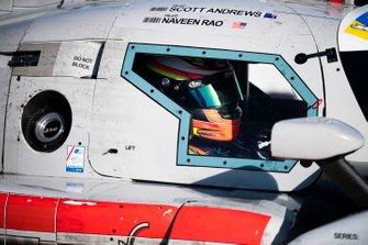 #64 K2R Motorsports Ligier JS P3: Naveen Rao, Scott Andrews
