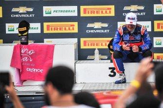 Rubens Barrichello o pódio em Cascavel