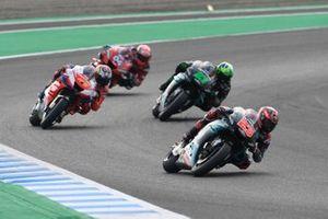 Fabio Quartararo, Petronas Yamaha SRT, Jack Miller, Pramac Racing, Franco Morbidelli, Petronas Yamaha SRT, Andrea Dovizioso, Ducati Team