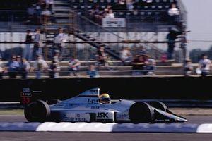 Roberto Moreno, Eurobrun, al GP di Gran Bretagna del 1990