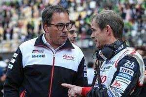 Rob Leupen, Team Director Pascal Vasselon, Technical Director Toyota Gazoo Racing
