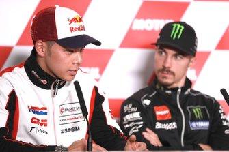 Takaaki Nakagami, Team LCR Honda, Maverick Vinales, Yamaha Factory Racing