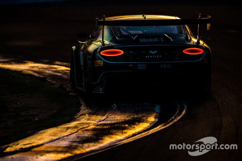 #8 Bentley Team M-Sport Bentley Continental GT3: Alex Buncombe, Oliver Jarvis, Sebastian Morris