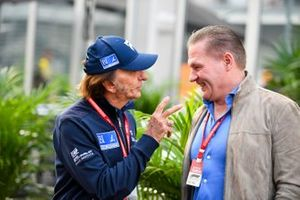 Emerson Fittipaldi and Jos Verstappen