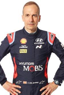 Carlos del Barrio, Hyundai Motorsport