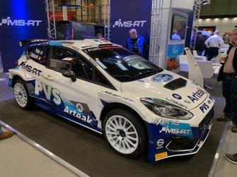 Presentazione ufficiale livrea Ford Fiesta MKII M-Sport Pedro