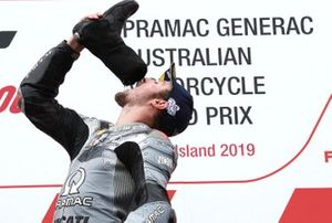 Podio: terzo classificato Jack Miller, Pramac Racing