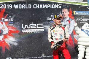Worldchampion Ott Tänak, Toyota Gazoo Racing WRT Toyota Yaris WRC