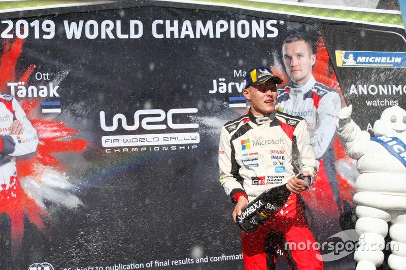 Campeón Mundial Ott Tänak, Toyota Gazoo Racing WRT Toyota Yaris WRC
