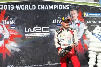 Il Campione del Mondo Ott Tänak, Toyota Gazoo Racing WRT Toyota Yaris WRC