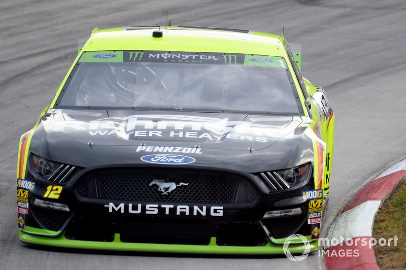 Ryan Blaney, Team Penske, Ford Mustang Menards/Richmondr