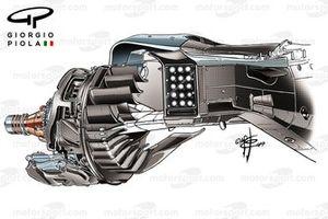 Ferrari SF90 rear duct detail