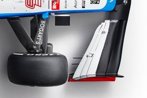 Williams FW43 detail