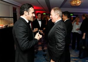 Dario Franchitti con Martin Brundle
