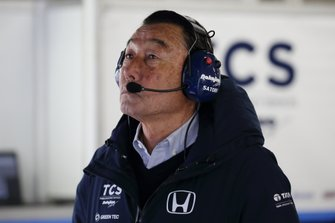 中嶋悟総監督 Satoru Nakajima(TCS NAKAJIMA RACING)