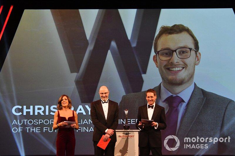 Presentazione dell'Engineer of the Future award