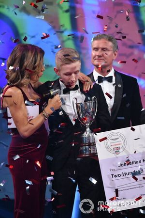 Johnathan Hoggard wins the Aston Martin Autosport BRDC Young Driver Award