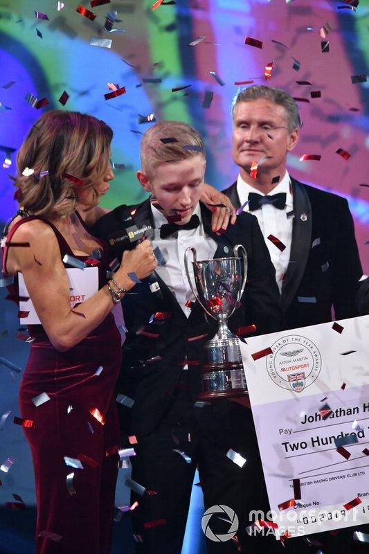 Johnathan Hoggard vince l'Aston Martin Autosport BRDC Young Driver Award