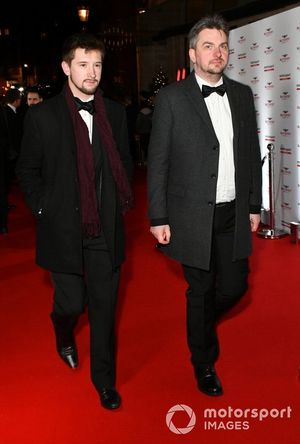 Guests arrive on the red carpet