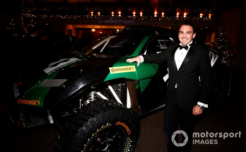 el coche de Rally Raid